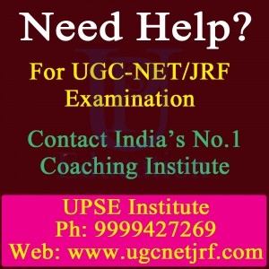 India's No.1 Coaching Center for UGC - NET/JRF Examination