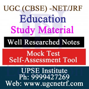 UGC-NET/JRF Education Material