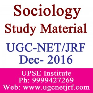 UGC-NET/JRF Sociology